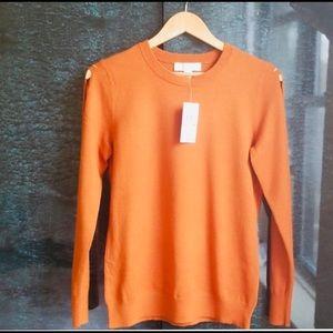 Michael Kors classic Maple Leaf Sweater